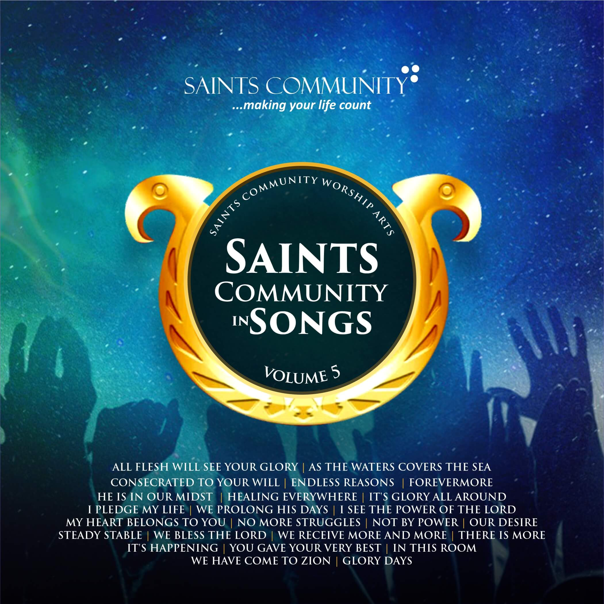 Saints Community in Songs Volume Five