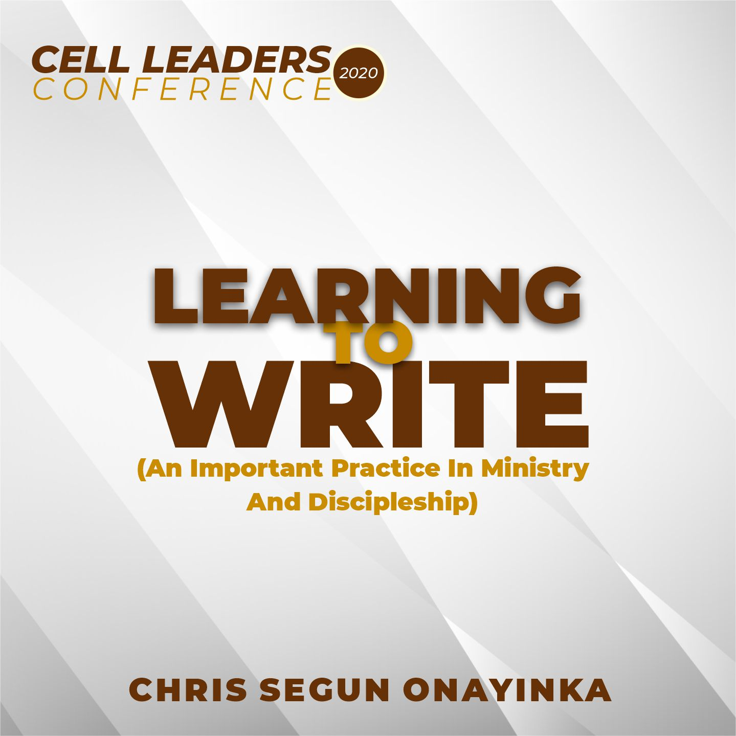 Learning to Write (An important practice in ministry and discipleship)