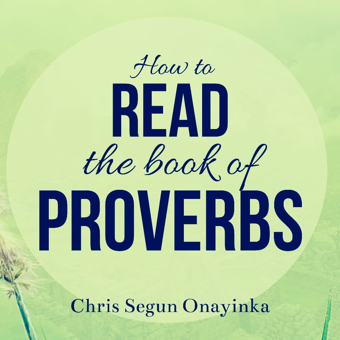 How to read the book of Proverbs