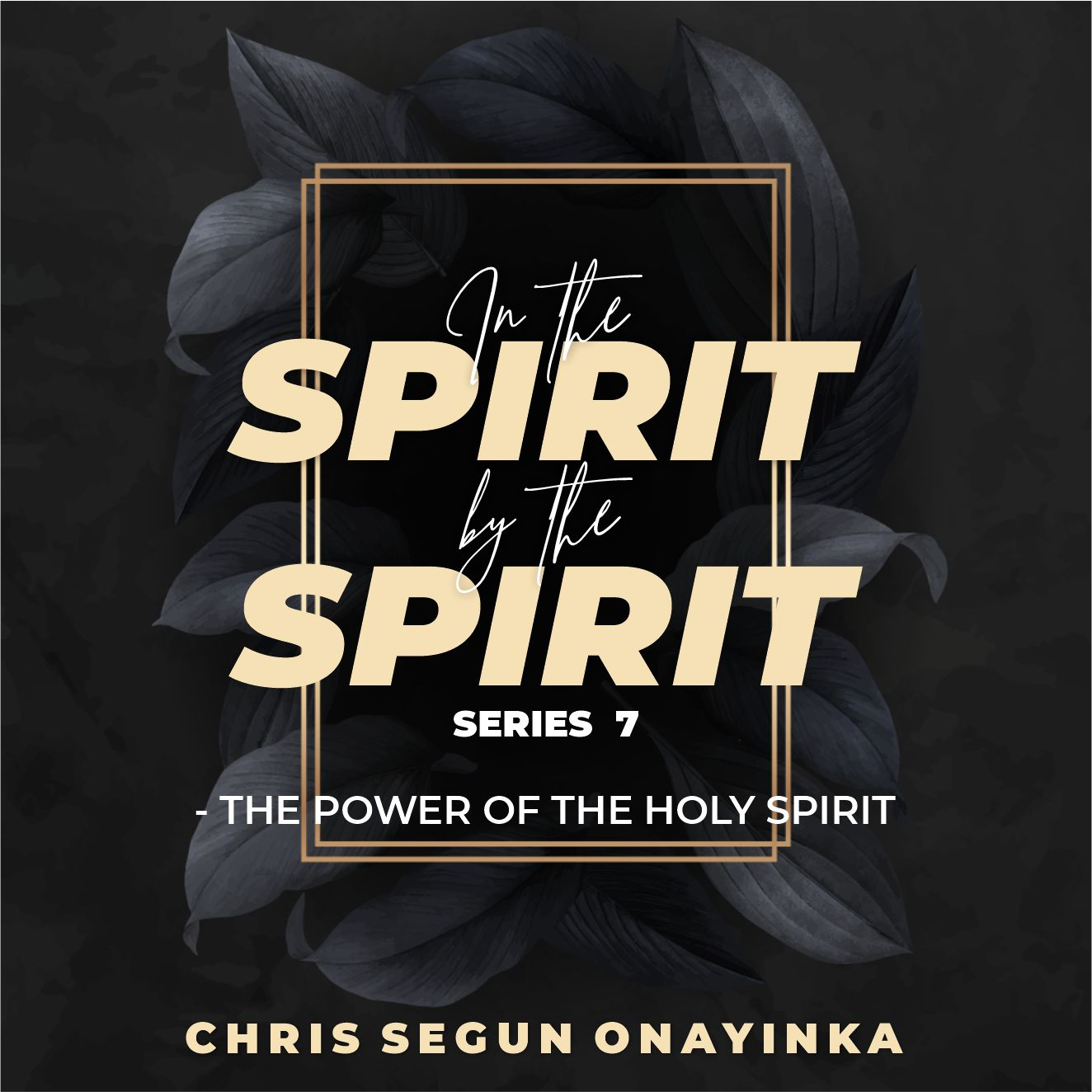 In the Spirit By the Spirit Series 7 – The Power of the Holy Spirit